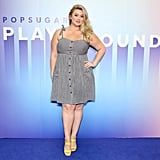 Hunter McGrady at POPSUGAR Play/Ground