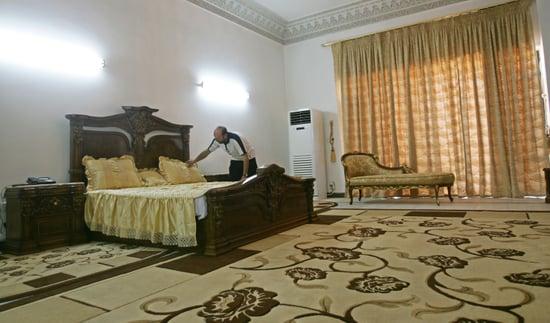 Oh Snap! Hotel Saddam Lets You Live Like a Tyrant