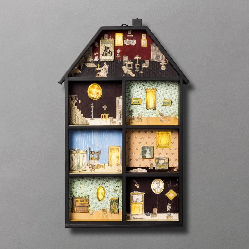 John Derian For Threshold Haunted House Light Up Halloween Countdown Calendar
