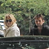 Kate Hudson with Matthew Bellamy in London.