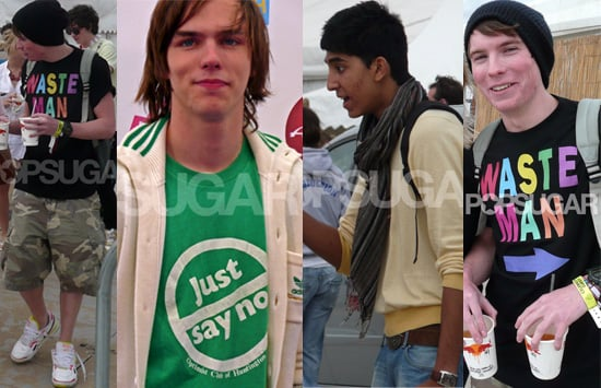Exclusive To PopSugarUK: Photos Of Skins Stars Joe Dempsie, Nicholas Hoult and Dev Patel Backstage At T4 On The Beach 2008