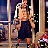 Jennifer Lopez on Set of Music Video August 2017