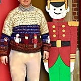 Man Makes Sweaters to Match Travels