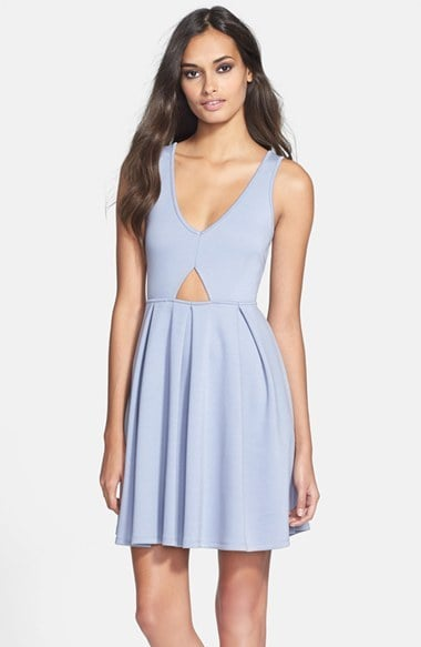 Black Swan Cutout Dress