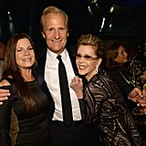 Marcia Gay Harden, Jeff Daniels, and Jane Fonda had fun at the HBO after party.