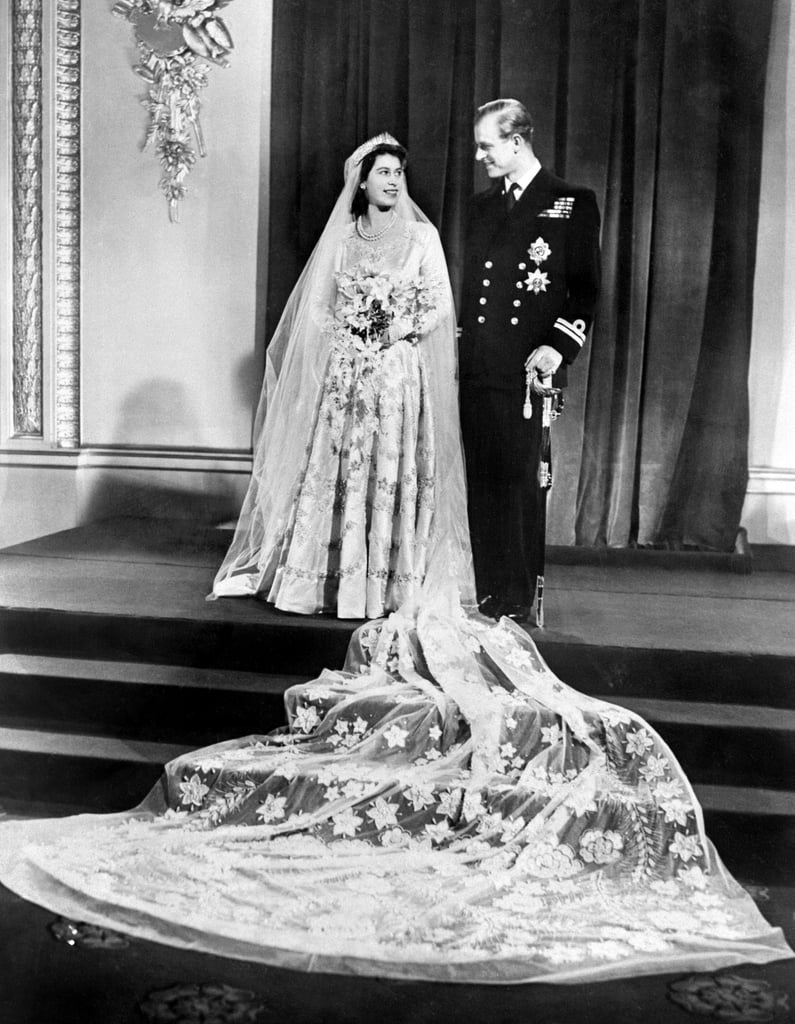 Princess Elizabeth 1947 Royal Wedding Dresses Through