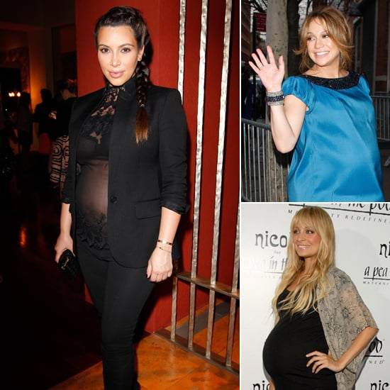 Lovely and 9 Months? 20 Celebs Show Their Third-Trimester Style