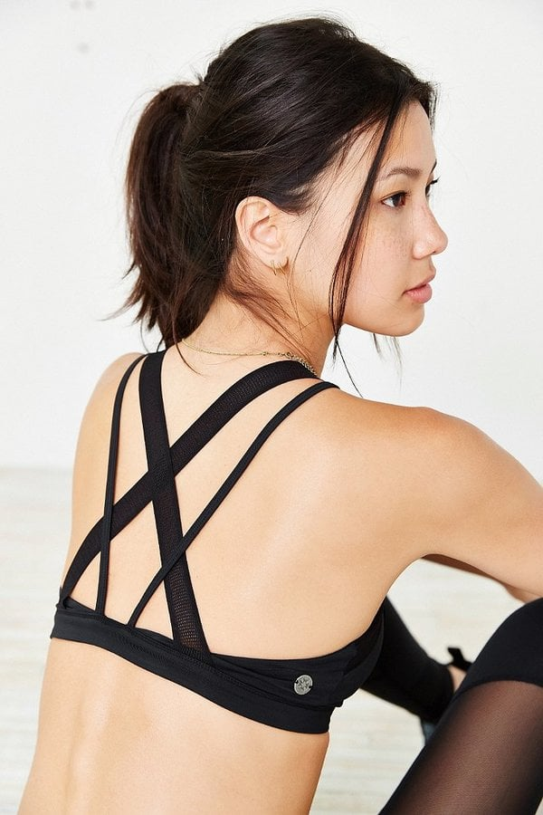Urban Outfitters Without Walls Mesh Cross-Back Bra ($58)
