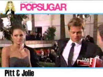Brad and Angelina On The Red Carpet