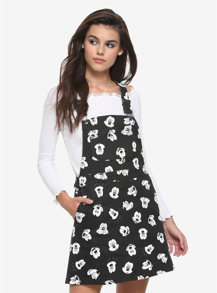 Disney Mickey Mouse Black & White Print Skirtall