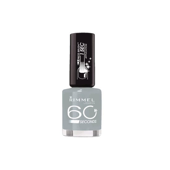Rimmel London 60 Seconds Nail Colour in Greymatters, $7.95
