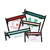 Loteli Jetsetter 5-in1 Clear Cosmetic Bag Set
