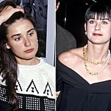 Demi Moore: Long hair to boy cut.