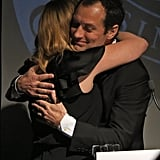 Jude Law Plays Wingman for Kate Winslet as She Makes an Emotional Speech