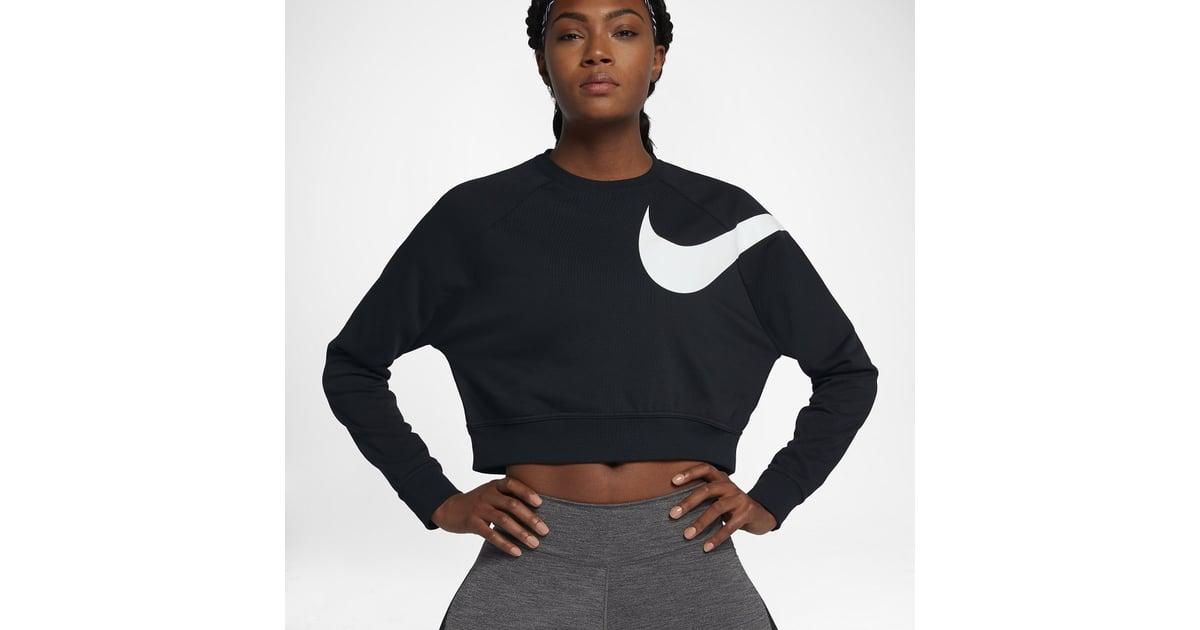 Nike Dry Versa Women's Long Sleeve Training Top   Selena Gomez Workout  Style   POPSUGAR Fitness Photo 8