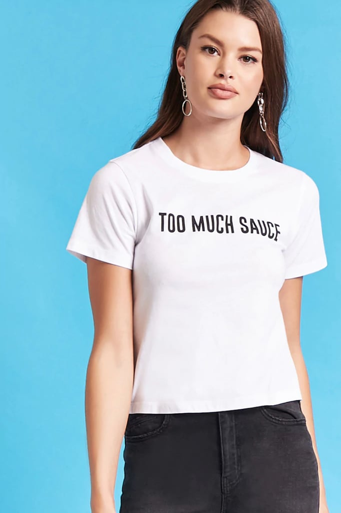 f16caf5c7ec48d Taco Bell Too Much Sauce Graphic Tee