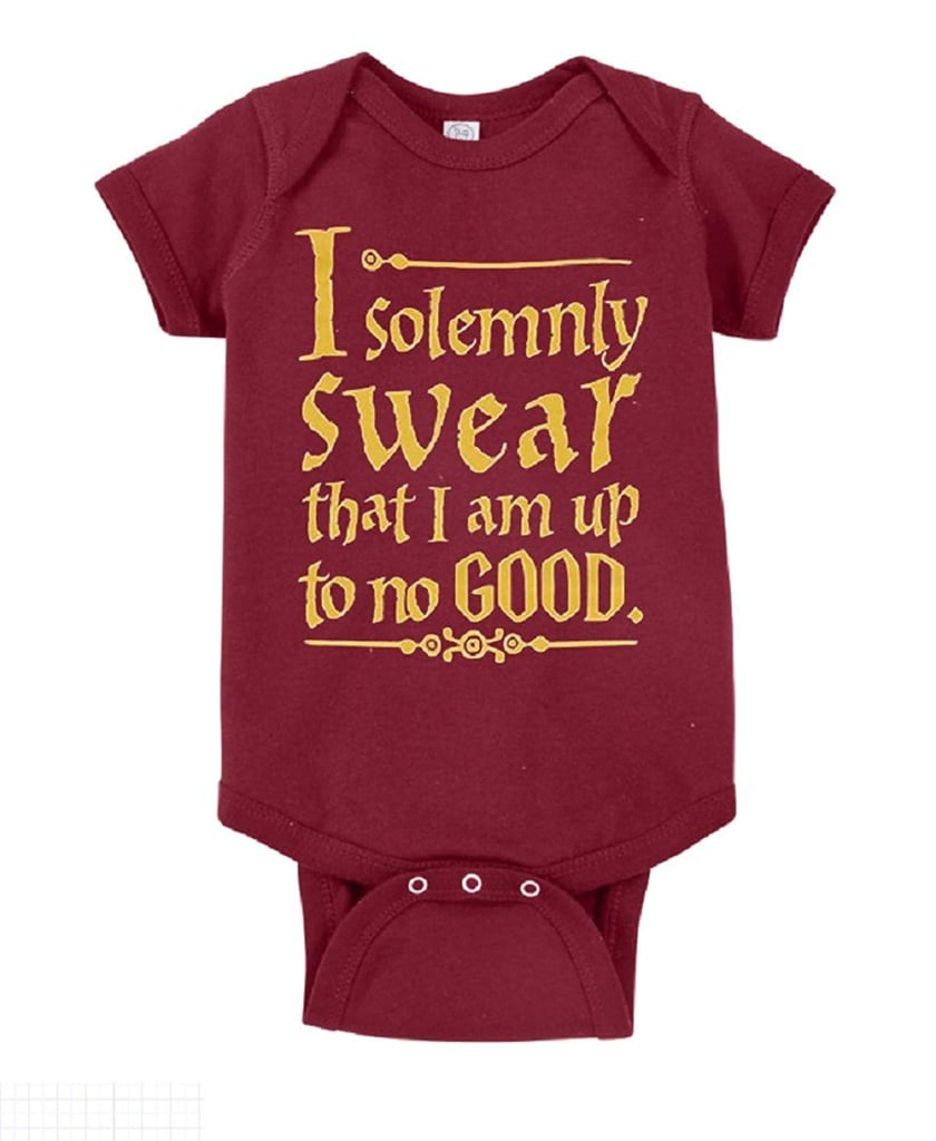 8ca29045e Harry Potter I Solemnly Swear That I Am Up to No Good One-Piece Bodysuit