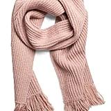 Chunky Sparkle Knit Scarf
