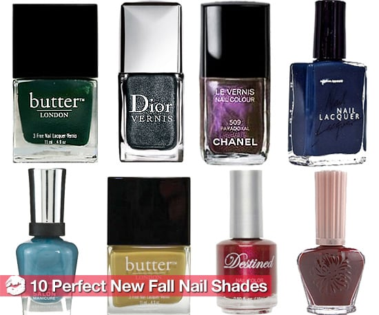 The Hottest New Nail Polish Colors for Fall 2010
