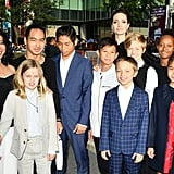 September: Angelina and Her Brood Attended the Toronto Film Festival