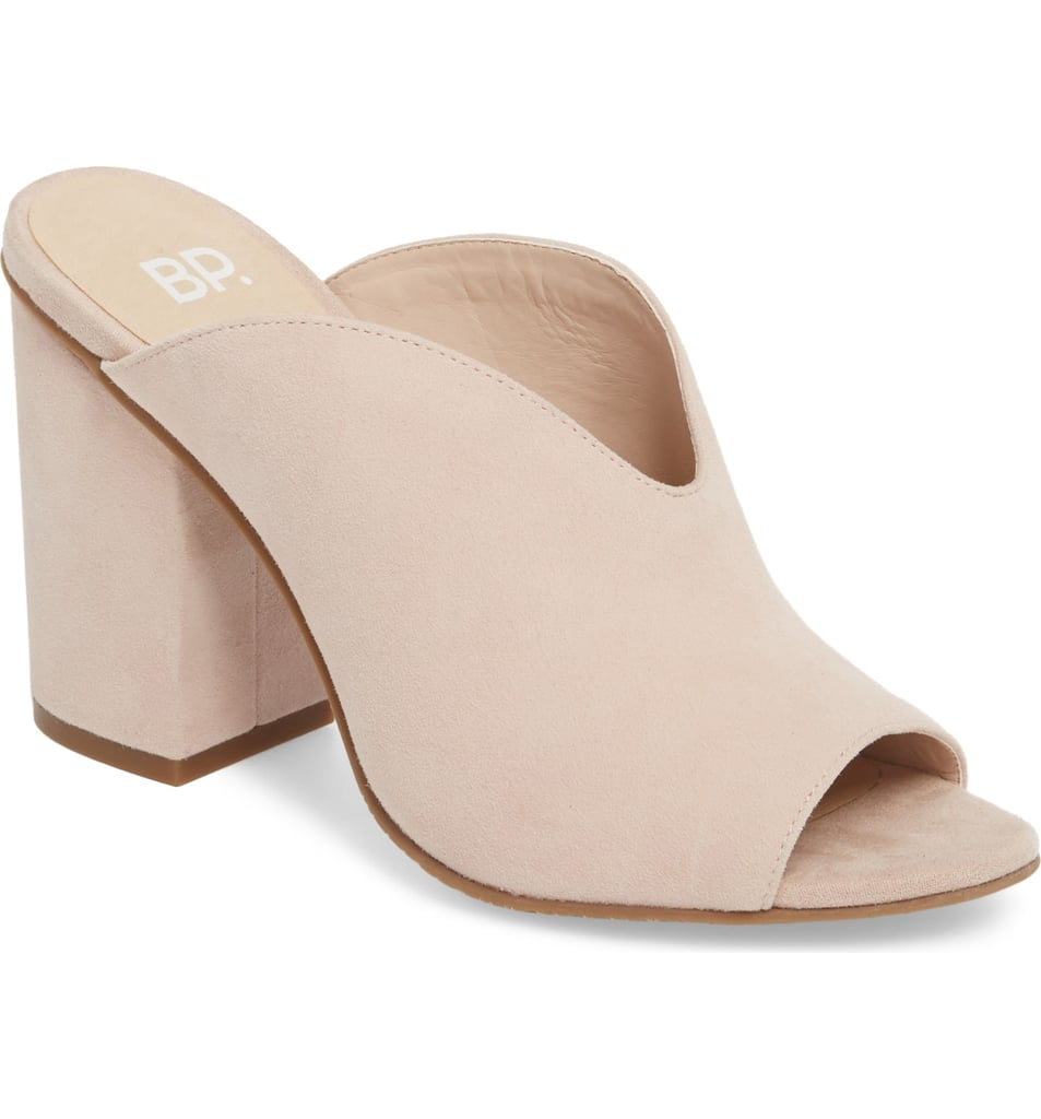 BP. Tonya Open-Toe Mules