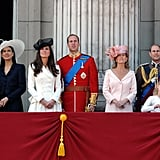Kate's First Trooping the Colour