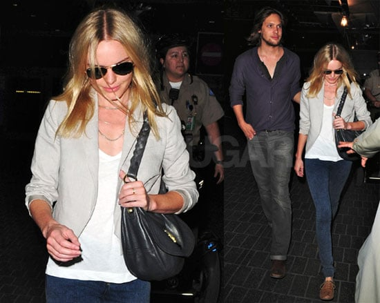 Photos of Kate Bosworth and James Rousseau Arriving Together at LAX