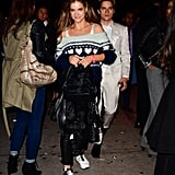 Barbara and Dylan Leaving Avenue in November 2018