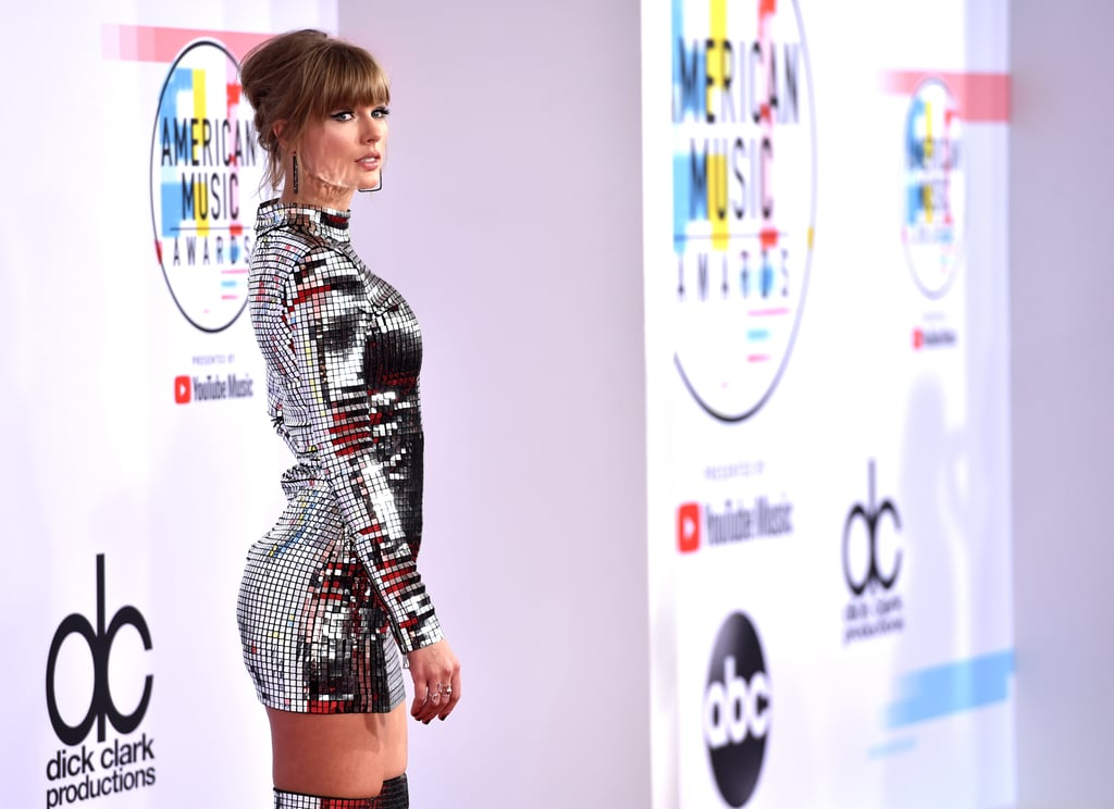 American Music Awards Red Carpet Dresses 2018