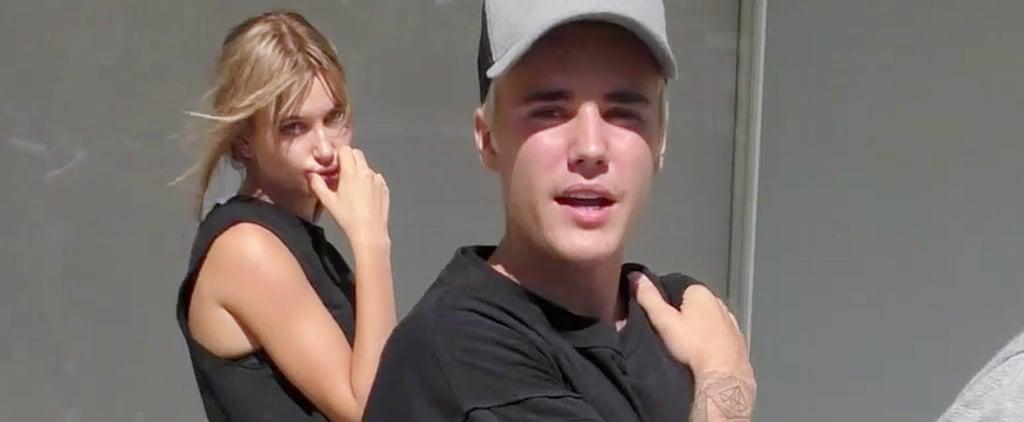Justin Bieber and Hailey Baldwin Kiss in Brooklyn 2018