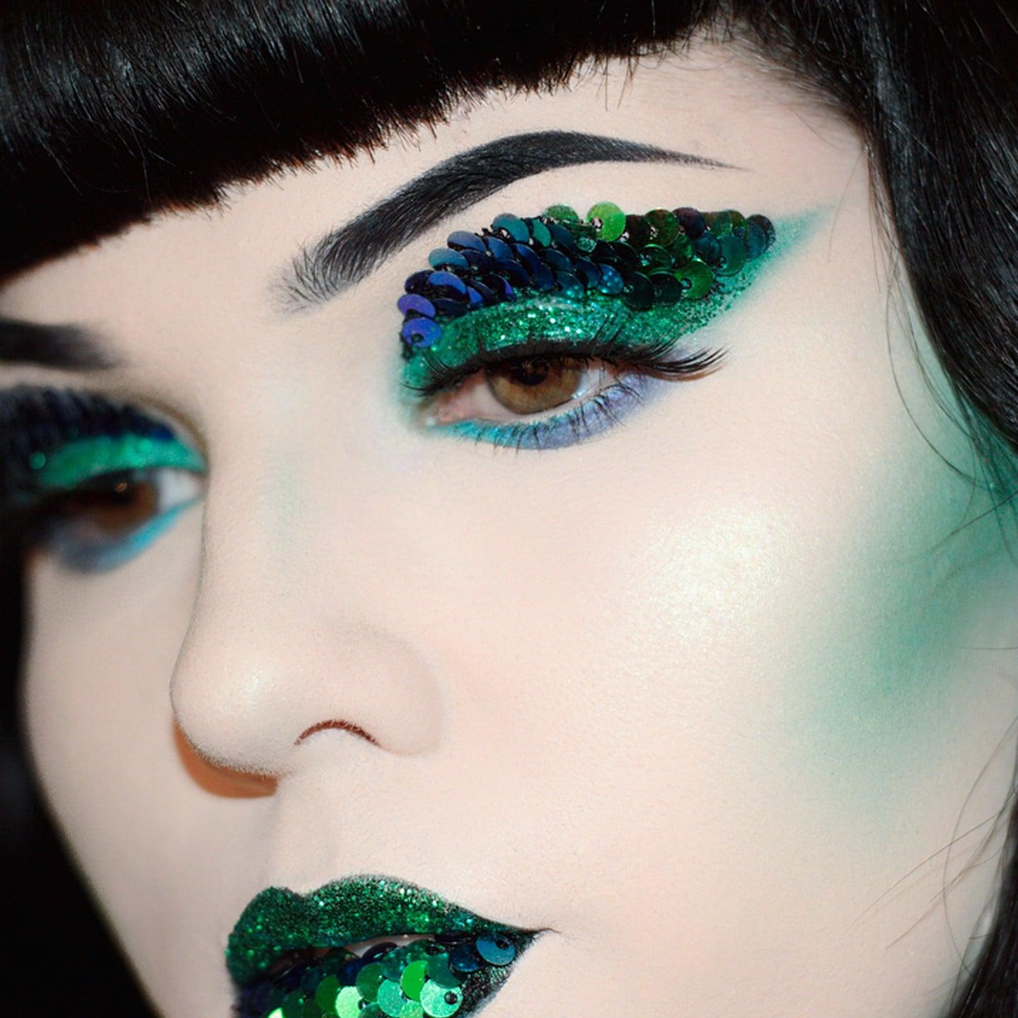 Dragon Scales Makeup Trend Popsugar Beauty