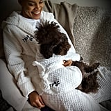 Owner & Dog Matching Dressing Gown/Bathrobe