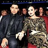Demi Lovato and Wilmer Valderrama Holding Hands
