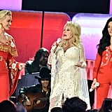 Katy Perry, Dolly Parton, and Kacey Musgraves