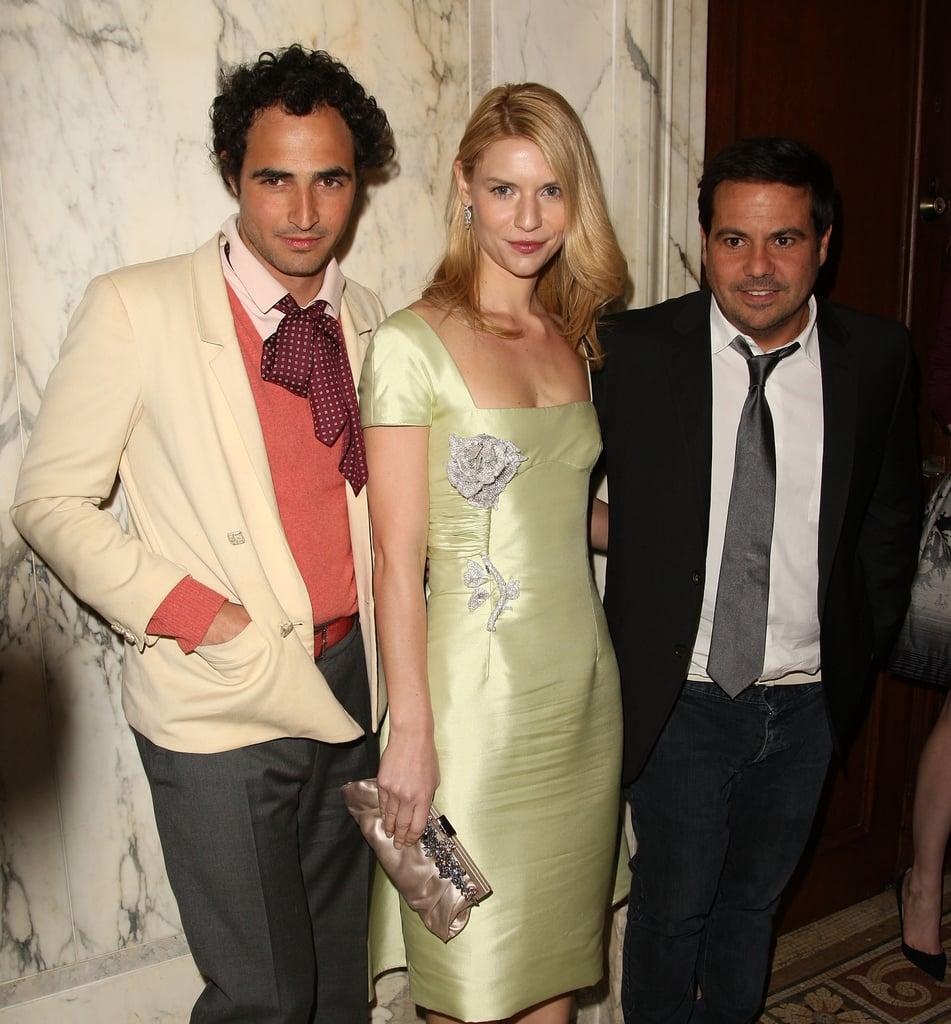 Zac Posen, Claire Danes, Narciso Rodriguez