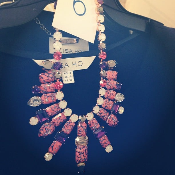 FabSugar fell head over heels for this bejewelled Lisa Ho goodie at the designer's A/W salon show.