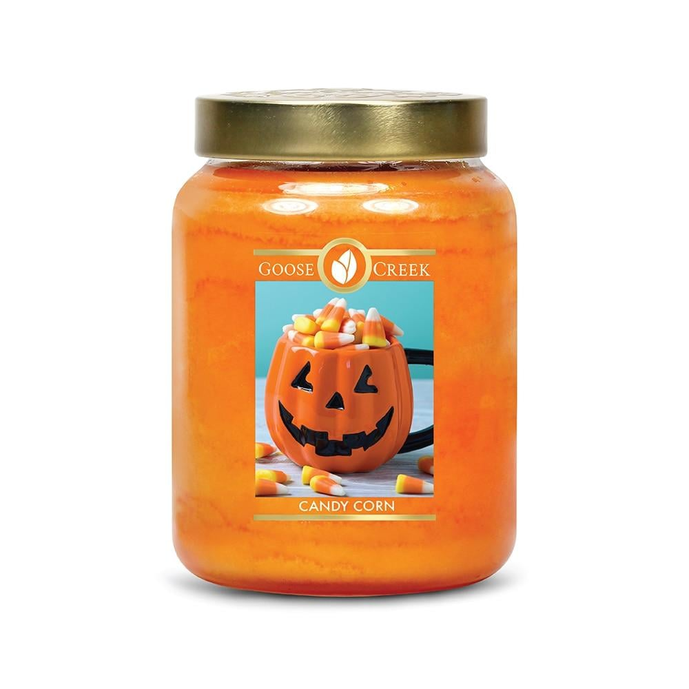 Goose Creek Candy Corn Large Jar Candle