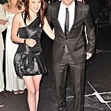 Robert Pattinson and Kristen Stewart had a ball together at the London premiere of Twilight in December 2008.