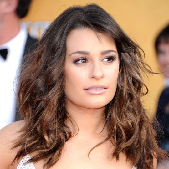 How to Get Lea Michele's 1970s Bianca Jagger-Inspired Wavy SAG Awards Hairstyle!