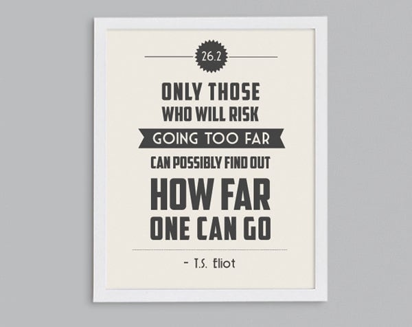T. S. Eliot Print