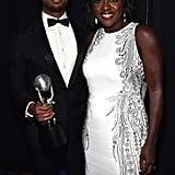 Pictured: Viola Davis and Michael B. Jordan