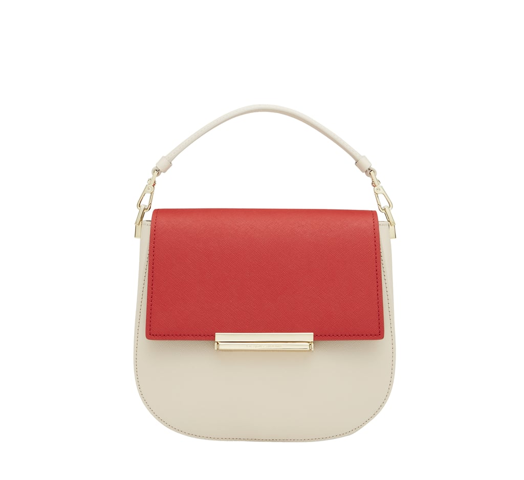 Kate Spade New York's newly launched Make It Mine collection includes the adorable Byrdie bag ($328) with interchangeable leather flaps ($58).
