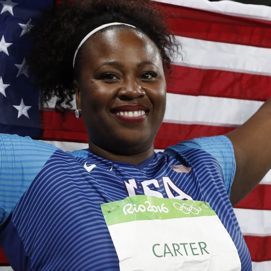 Michelle Carter Wins Olympic Gold Medal in Shot Put (Video)