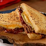 The BBQ Brisket Melt on the menu at Woody's Lunch Box.