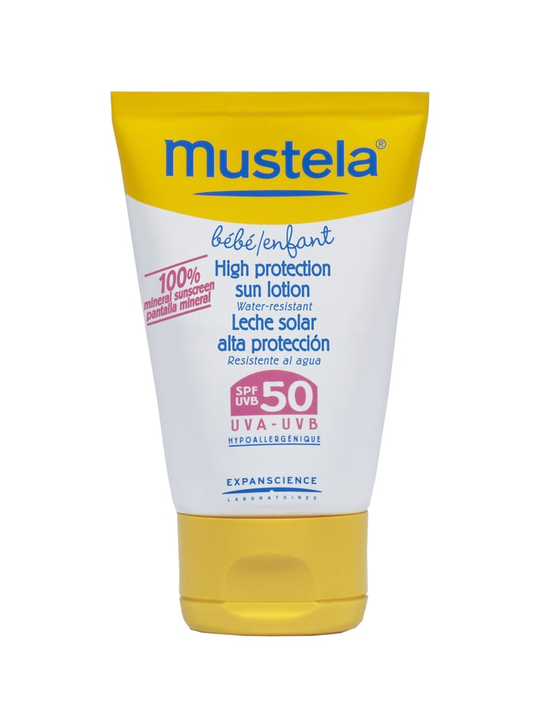 Mustela High Protection Sun Lotion ($15)