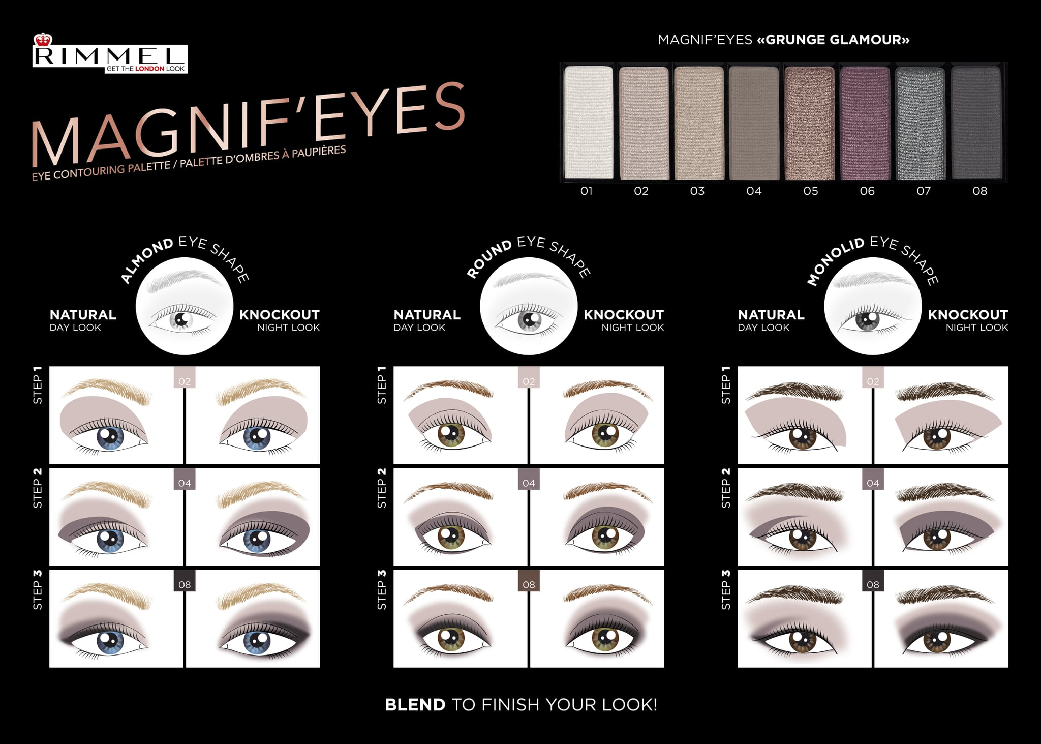 How to contour eye makeup according to shape popsugar beauty share this link ccuart Gallery