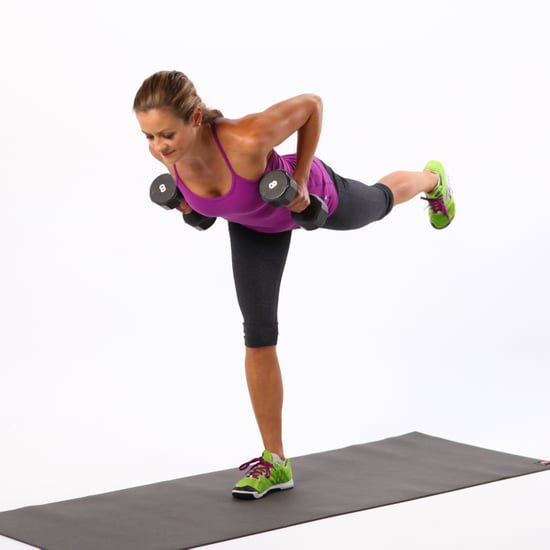 Best Back Exercise: Single-Leg Deadlift With Row