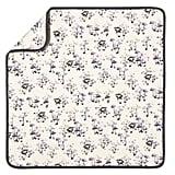 Baby Mushroom Print Knit Blanket ($13)