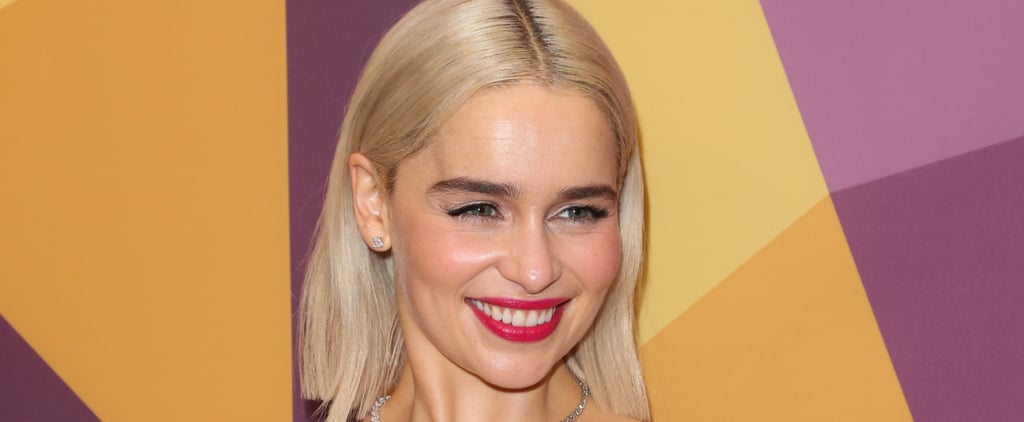 Emilia Clarke Pixie Cut September 2018