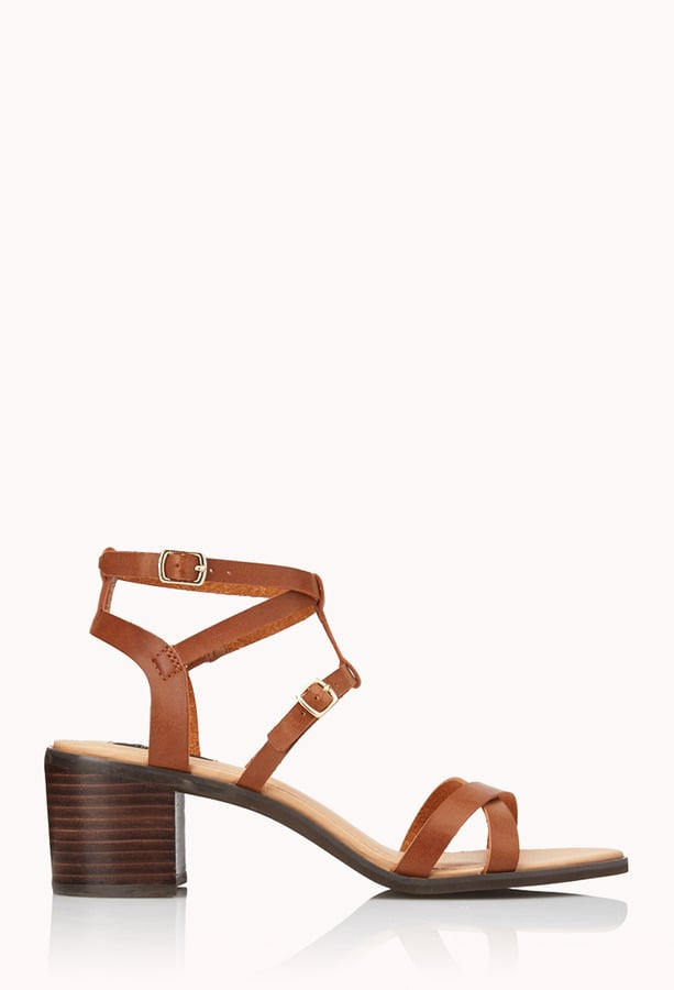 Forever 21 Chunky Sandals